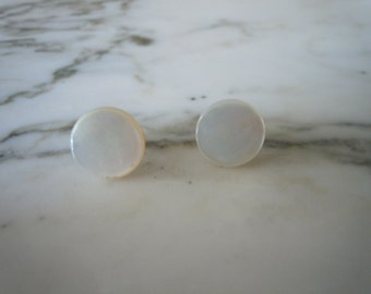 Collar Buttons or Mother of Pearl Waistcoat Buttons