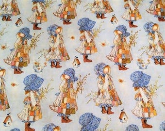 Quilting Fabric, Holly Hobbie Doll Fabric, Novelty Fabric, Apparel Fabric, Baby/Nursery/Diy, Sewing Material, Craft Supplies, Fabric Yardage