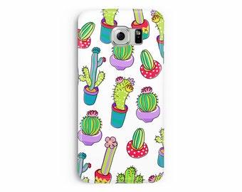 Cactus phone case, Case for S6, Cactus pattern, Mexican Phone case, Kawaii Phone Case, Case for S6 Egde plus, Cactus Samsung S6 Edge case,