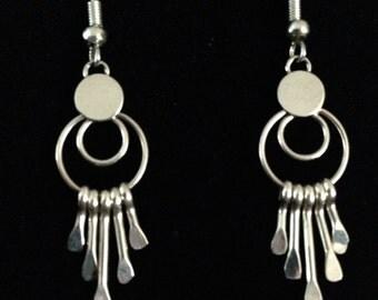 Native American Earrings/Sterling Silver Earrings/Navajo Jewelry