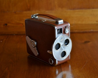 Keystone K45 Riviera Deluxe 8mm Movie Camera with Original Box and Manual