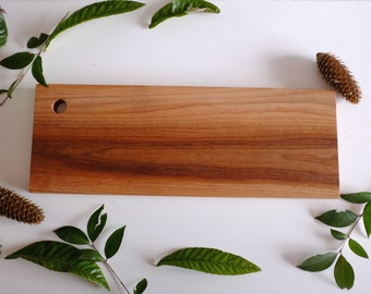 Large Wood Cutting Board, Long Cheese Board, Large Charcuterie Tray, Wood Serving Board, Chef Gift, Anniversary Gift