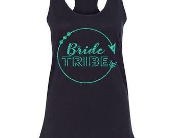 Bride Tribe Arrow Circle Tank
