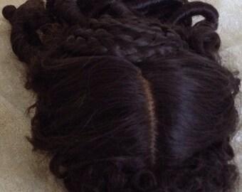 Curls Ringlets Victorisn Style Wig