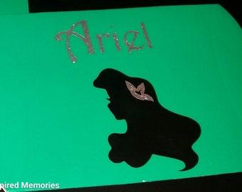 12- The Little Mermaid mini favor boxes, Ariel favor boxes, Ariel favor pillow boxes