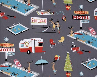 Holiday Break by Michael Miller Fabric