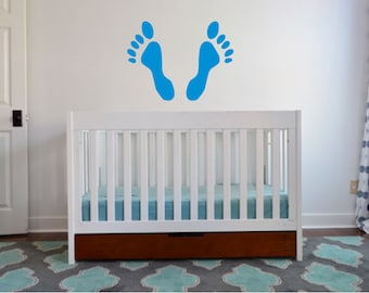 Feet Stamp Wall Decal - sp4 (13)