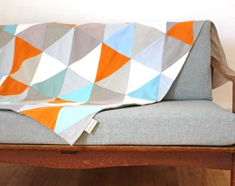 Small size throw-blanket circus series: Tangerine dream