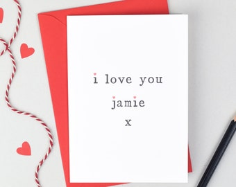 Anniversary Card, Card for Wife, Card for Husband, Anniversary, Card for Hubby, Love Card, Love you Card, Wife Card, Husband Card, Love You