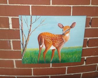 Deer # 2 Nursery Art