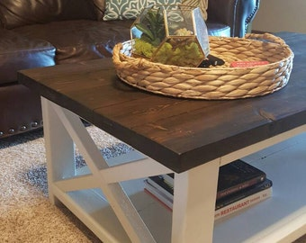 Hand Crafted Farmhouse Coffee Table - LOCAL PICKUP ONLY