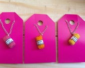Mini Wool Necklaces, Knitting Jewellery, Yarn, Wool, Knitting, Crochet, Sewing, Crafts, Arts