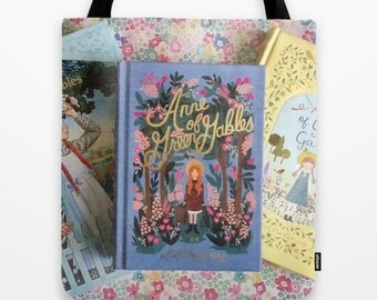 Anne of Green Gables Library Tote Bag