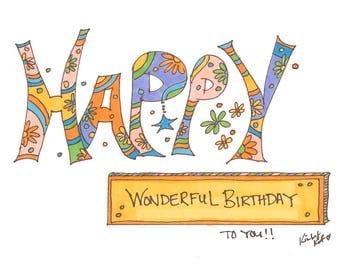 Happy Wonderful Birthday