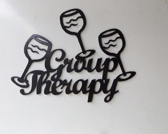 Group Therapy wine stacked