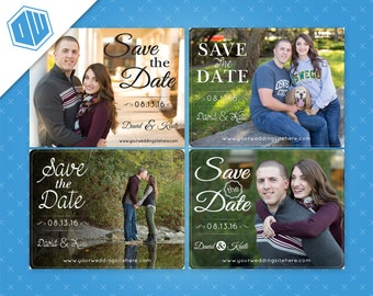 Personalized Printable Save-The-Date for your wedding | Printable File | Multiple Sizes