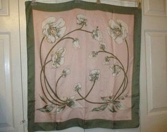 vintage Andre Claude Canova silk scarf