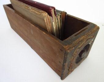 Vintage Sewing Machine Drawer Wooden Box Vintage Box Display Shelf