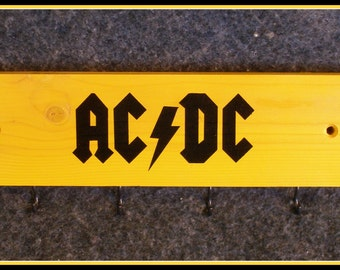 AC/DC Key Ring Holder