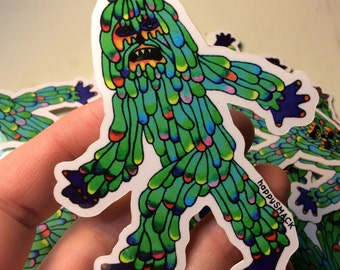MOONSQUATCH sticker