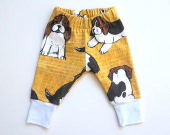 Baby boy leggings - gender neutral baby gift - dog lover gift for baby - baby girl clothes - baby leggings - hipster baby - beagle gift