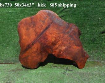 BS730   Redwood  burl slab