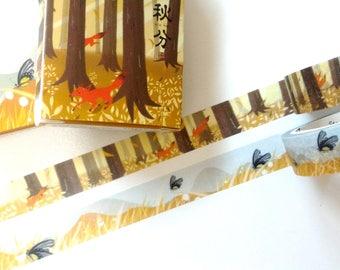 Autumn washi tape