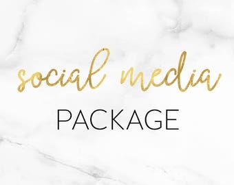 Social media package matching your Blogger template. Covers and profile pics Facebook, twitter, instagram, pinterest, youtube, google plus