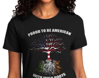 Irish Roots Ladies' T-Shirt