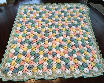 One of a kind baby blanket