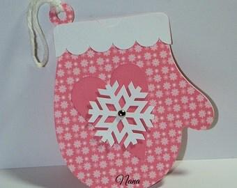 Mitten Gift Card Holder-Christmas Gift Card Holder-Christmas-Gift Card Holder