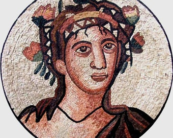 Greek God Handmade Portrait