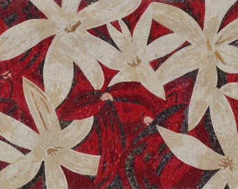 Floral Mosaic Patterns - Anemone