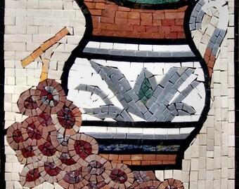 Mosaic Patterns- Pot
