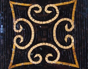 Decorative Mosaic Accent Tile - Freccia