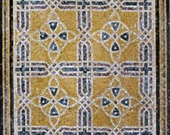Geometric Mosaic Panel- May