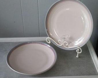 Off White Dinner Plates, Set of Two(2) Pfaltzgraff Dinner Plates, Pfaltzgraff Replacements, Ceramic Dinner Plates, Stoneware Dinner Plates