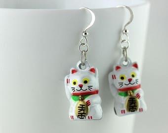 Cat Earrings with Neko Bells