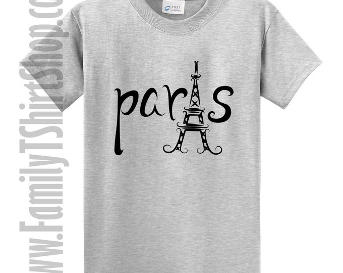 Paris Eiffel Tower Travel T-Shirt