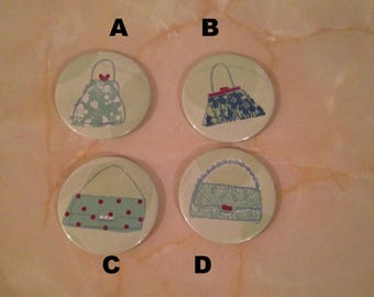 pocket mirror, handbag mirror, party favour