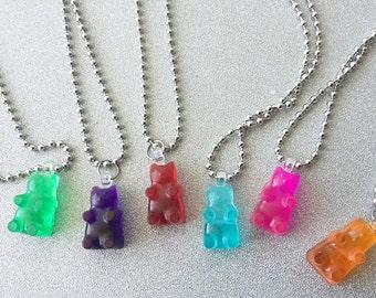 Gummy Bear Necklaces Gummy Bear Jewelry