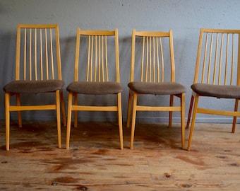 Scandinavian Chairs Retro Vintage 60s Denmark Chairs Scandinavian Teak  Furniture Mix And Match Mismatched