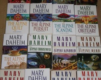 16 Mary Daheim books / Alpine Series / Mary Daheim novels