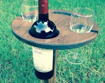 Lot of 5 Folding wine tables