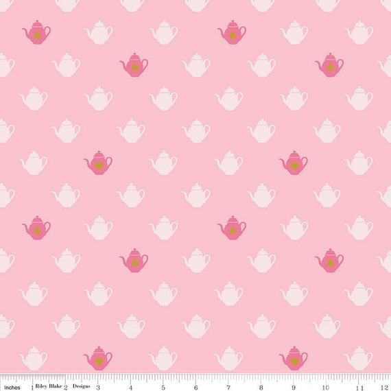 Alice In Wonderland Fabric Pink Fabric By The Yard