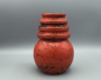 Scheurich  269 -18  Wien ( Vienna ) vase  Designed by A.Seide vintage 1970s Mid Century  West Germany