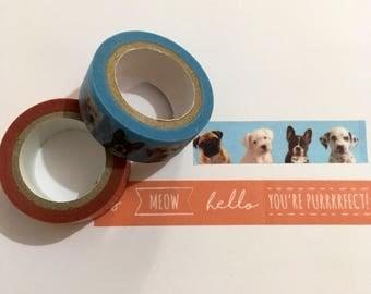 Pet Washi Tape Set