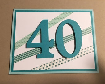 Age Birthday Card