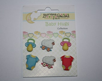Baby Buttons Baby Hugs Buttons Buttons Galore & More Buttons Shank Buttons