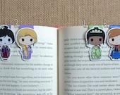 Magnetic Bookmarks • Princesses 2